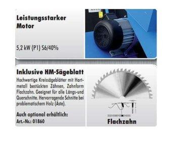 Güde Wippsäge GWS 700 HM 01714 -