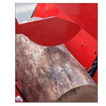 ROTENBACH Benzin Wippsäge 13 PS HM Sägeblatt 700mm + Holzhaltebügel -